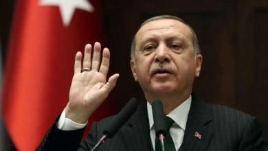 """صورة أردوغان في """"خطاب النصر"""" يؤكد مواصلة بلاده التقدم في سوريا"""