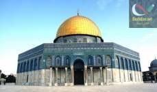 صورة مسؤول فلسطيني: ندقق بحادثة سقوط حجر من جدار المسجد الأقصى