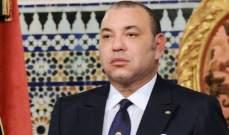 صورة الملك المغربي يؤكد حرصه على الرقي بالعلاقات مع الجزائر