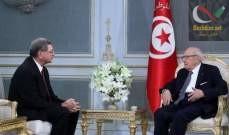 صورة الرئيس التونسي عيّن رئيس الحكومة السابق الحبيب الصيد مستشارا خاصا له