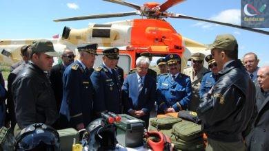 صورة تعيين العميد معمري السعيد قائدا للقوات الجوية خلفا للواء الوناس …