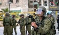 صورة اشتباكات بين فلسطينيين والجيش الاسرائيلي قرب بيت إيل شمالي رام الله