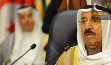 صورة أمير الكويت: الشرق الأوسط تحول إلى ساحة للقتل والدمار وتصفية الحسابات