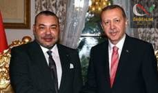 صورة ملك المغرب لأردوغان: حريصون على مواصلة العمل سويا معكم