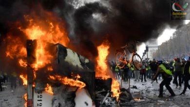 صورة انتفاضة الشارع الفرنسي ، تصريح ربراب ، تصريح عمار غول ، سجن الصحفيين و الفنانين و قصة المقدم زغدود …