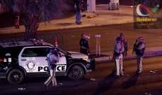 """صورة مصدر لـ""""أسوشيتد برس"""": 11 اصابة في اطلاق النار بكاليفورنيا ولا قتلى"""