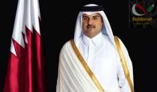 صورة أمير قطر: تمكنا إلى حد كبير من تجاوز آثار الحصار المفروض علينا
