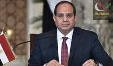 صورة السيسي أكد ضرورة التوصل للتسوية الليبية برعاية الأمم المتحدة