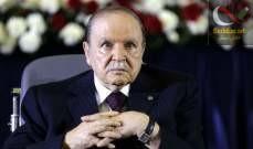 صورة الحزب الحاكم في الجزائر: انتخابات الرئاسة في موعدها وبوتفليقة مرشحنا