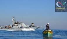 صورة العثور على جثة صياد مصري مفقود في شباك بحارة من غزة