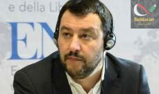 """صورة وزير الداخلية الإيطالي دعا الى إطلاق شرارة """"ربيع أوروبي"""""""