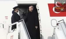 صورة أردوغان توجه الى موسكو في إطار زيارة رسمية تستغرق يوما واحدا