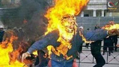صورة وفاة العسكري الذي أضرم النار في نفسه قبل يومين بالحي العكسري للحرس الجمهوري بزرالدة …