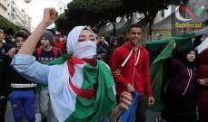 صورة إضراب عام في الجزائر ومسيرات شعبية رفضًا لتنصيب بن صالح رئيسًا مؤقتًا