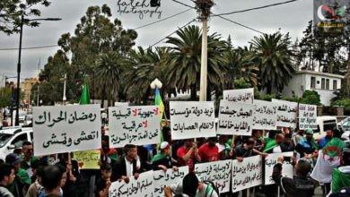 صورة الحراك الشعبي في الجزائر و الخطر القادم  ما لم يتم التحكم فيها مراقبتها و تأطريها … … قراءة في الوضع السياسي و الامني