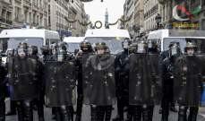 صورة الشرطة الفرنسية توقف مئة شخص تظاهروا بيوم عيد العمال في باريس