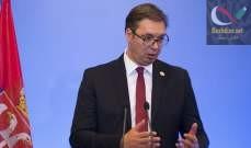 صورة الرئيس الصربي: علينا الاعتراف بأننا فقدنا السيطرة على الوضع في كوسوفو