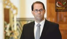 صورة رئيس الحكومة التونسية يعلن ترشحه لانتخابات الرئاسة