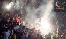 صورة وفاة خمسة أشخاص في تدافع خلال حفل موسيقي بالجزائر