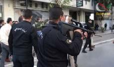 صورة تبادل إطلاق نار بين الحرس الوطني التونسي وعناصر مسلحة