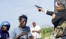 صورة سيناتور في هايتي يطلق النار ويصيب شخصين بالخطأ أحدهم صحافي
