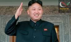 صورة كيم جونغ أون أشرف شخصياً على اختبار راجمة صواريخ فائقة الحجم
