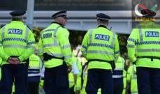 صورة الشرطة البريطانية: اعتقال شخص بعد العثور على طرد مشبوه قرب مطار مانشستر