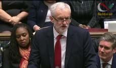 صورة زعيم المعارضة في بريطانيا يوافق على إجراء انتخابات مبكرة