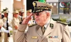 صورة قائد الجيش الجزائري: الانتخابات الرئاسية في 12 كانون الأول المقبل