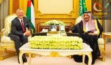 صورة ملك السعودية بحث مع ملك الأردن بأوجه التعاون ومستجدات الأوضاع الإقليمية والدولية