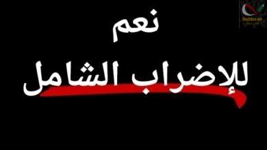 صورة الاضراب العام حق دستوري … من واجب الشعب الجزائري الخروج بقوة لاسقاط باقي العصابة …