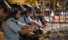 صورة شرطة هونغ كونغ: مشاغبون يشعلون النار في أحد سكان منطقة ما أون شان