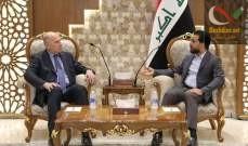 صورة الحلبوسي والنجيفي أكدا ضرورة اختيار رئيس وزراء عراقي قادر على إدارة المرحلة المقبلة