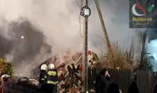 صورة مقتل 4 أشخاص نتيجة انهيار مبنى في منتجع تزلج ببولندا بعد انفجار غاز