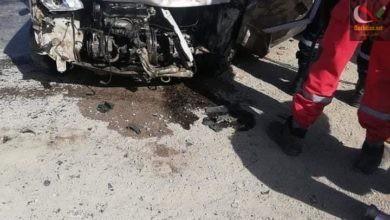 صورة مقتل شخصين في حادث مرور خطير بولاية باتنة