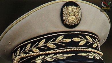 صورة تعيين العقيد مهدي بن علي المدعو خالد في منصب قائد الشرطة القضائية بالمديرية المركزية لامن الجيش DCSA …