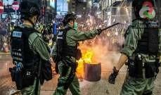 صورة شرطة هونغ كونغ تعتقل أكثر من 300 شخص لانتهاك قانون الأمن القومي