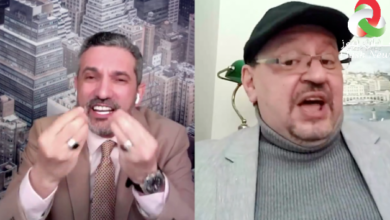 صورة نقاش ساخن حد التوتر بين بن سديرة و رافع حول قرار الرئيس بخصوص حل البرلمان الجزائري …