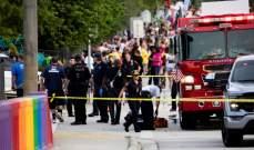 """صورة سلطات أميركا: واقعة الصّدم التي أدّت إلى مقتل رجل خلال مسيرة للمثليين في فلوريدا """"حادث مأساوي"""""""
