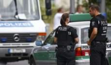 صورة الشرطة الألمانية: قتيلان في إطلاق نار غرب البلاد وفرار منفذ الهجوم