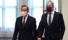 """صورة وزير خارجية الصين: علينا وروسيا مواجهة """"كورونا"""" و""""الفيروسات السياسية"""""""