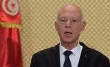 صورة الرئيس التونسي أصدر أمرا بتعديل فترة منع التجول ابتداء من 1 آب
