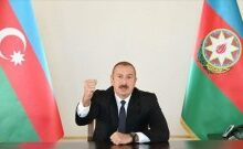 صورة رئيس أذربيجان: قمنا بتسوية نزاع قره باغ بطرق عسكرية ودبلوماسية