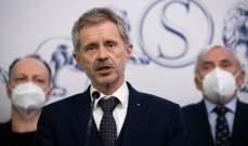 صورة رئيس مجلس الشيوخ التشيكي: رئيس البلاد عاجز عن أداء مهامه بسبب وضعه الصحي